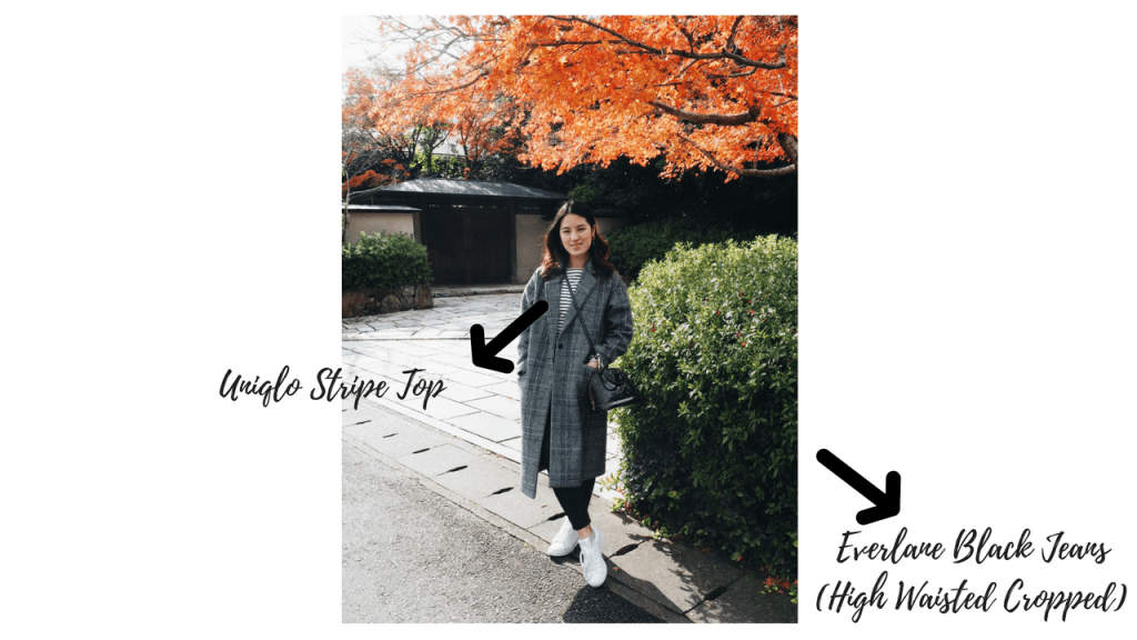 minimal capsule wardrobe, what to pack, winter in japan, japan holiday, what to pack to japan, 10 days, everlane, pack light