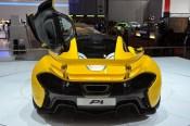 McLaren P1 Back Trasera Wing Yellow