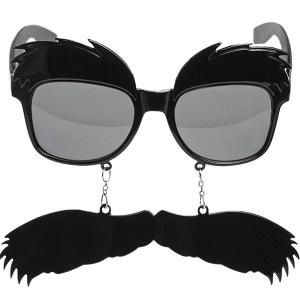 Briller med overskæg