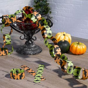 Halloween papirskæde