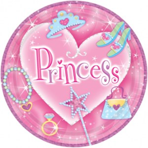 Prinsesse tallerken