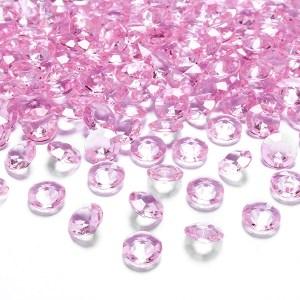Lyserøde borddiamanter