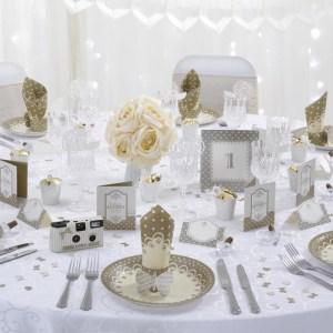 Festpakke guld ivory