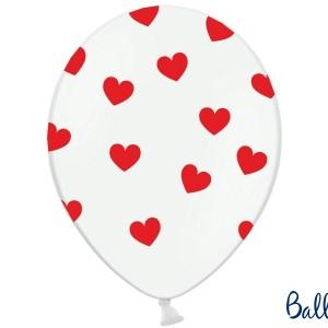 Balloner med hjerter