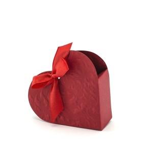 Hjerteformede gaveæsker