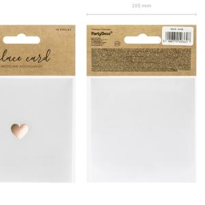 Rosaguld bordkort