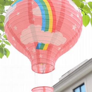 luftballon rispapirlampe