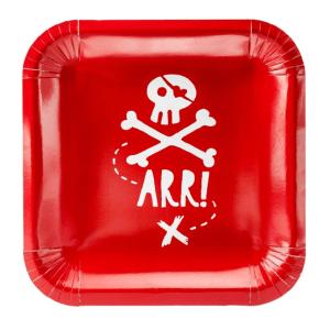 Pirat tallerken