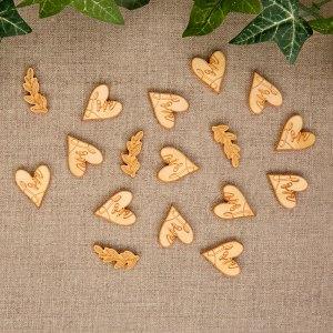 Bordkonfetti i træ