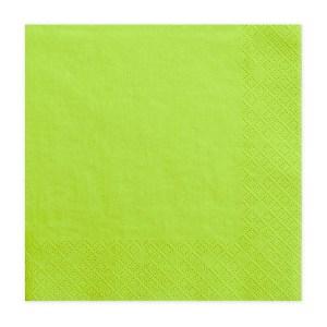 Æblegrønne servietter