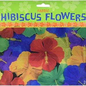 Kunstige hibiscus blomster