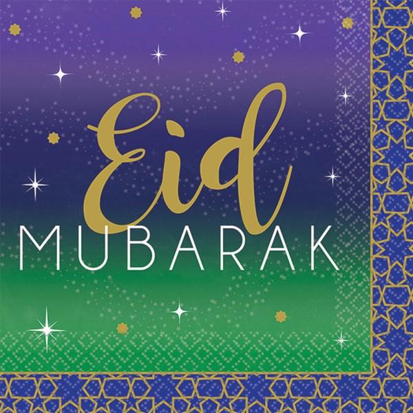 Eid Mubarak servietter