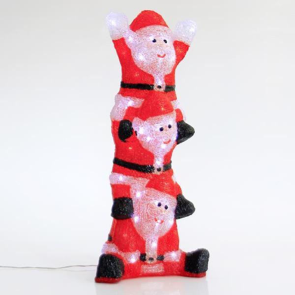 Santas Acrílicos 60 LED