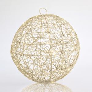 Bola con Glitter LED Ø30cm