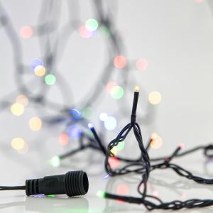 Cadena LED sin Transformador 180 LED 4 Colores