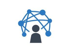 Blogger network logo