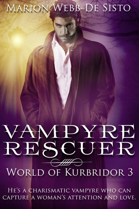 Happy Release Day to Marion Webb-De Sisto with Vampyre Rescuer