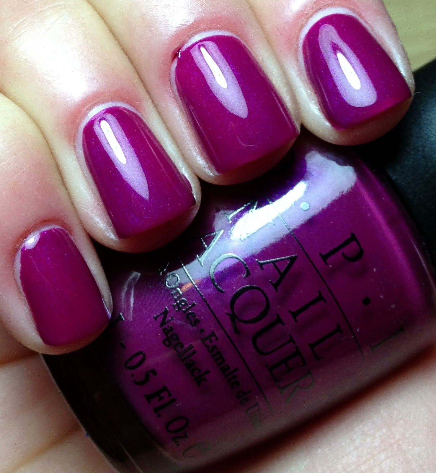 OPI Nail Polish Lacquer NL B73 OVEREXPOSED IN SOUTH BEACH 15ml