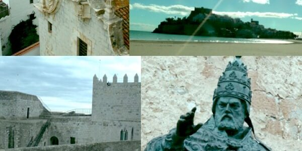 Peñíscola, tómbolo y refugio del Papa Luna