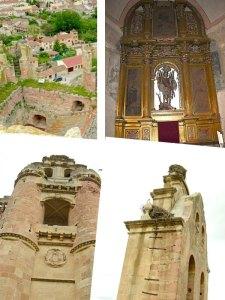 castillo e iglesia
