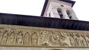 Friso del Templo de Santiago. Carrión de los Condes
