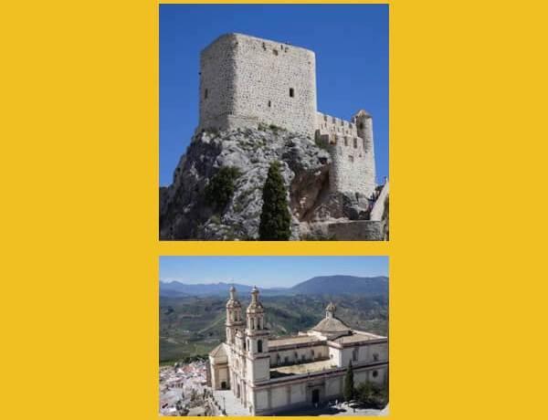 Olvera, castillo morisco, iglesia neoclásica, vía verde, santuario