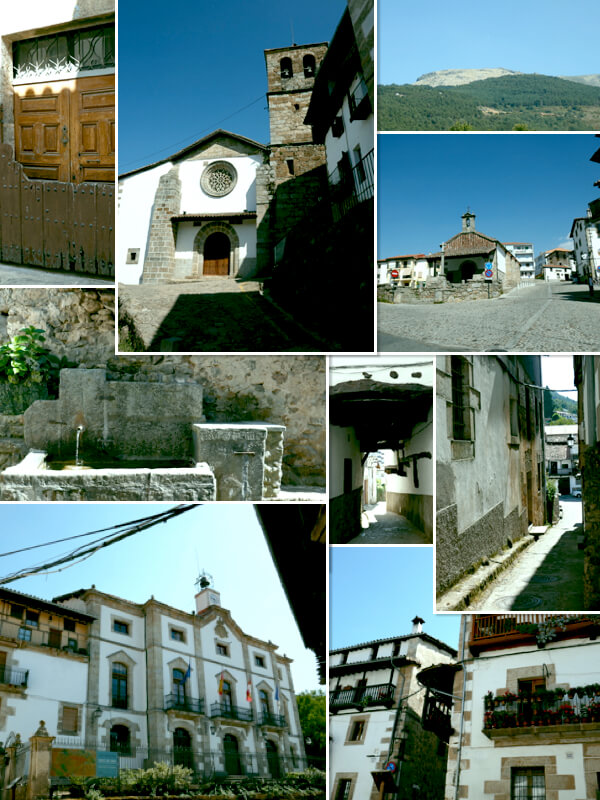 Candelario y la arquitectura serrana