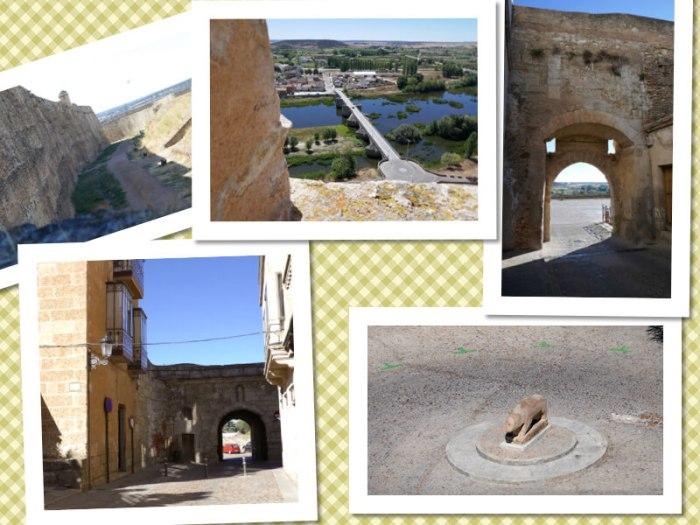 Ciudad Rodrigo enmarcada por su fortaleza