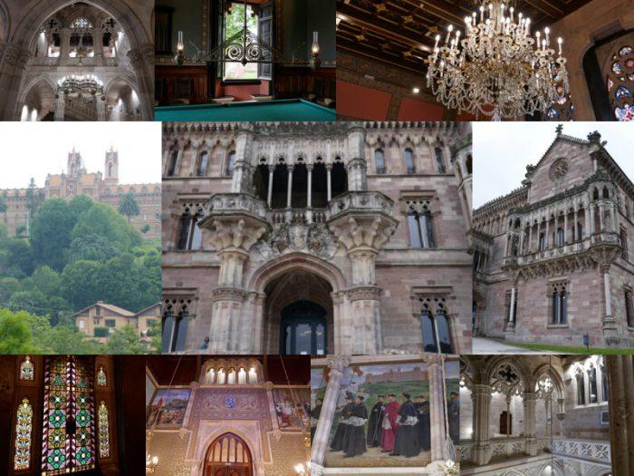 Comillas, y los arquitectos catalanes del modernismo