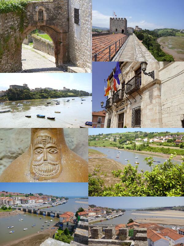 San Vicente de la Barquera desde la puebla vieja