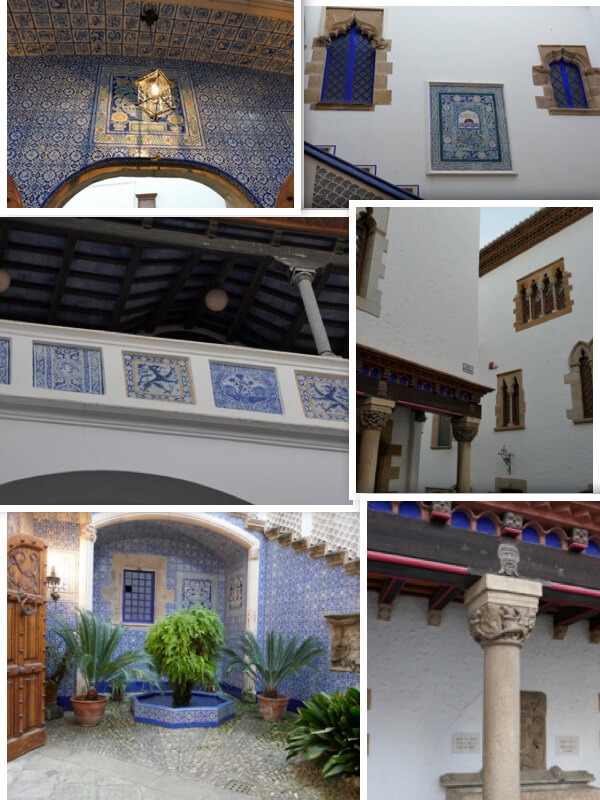 Sitges, templo modernista y sede museal