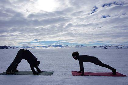 Yoga i Arktis