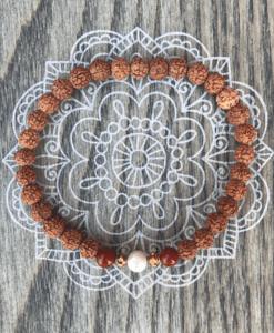 Lumi Spirit devoted to earth mala armbånd