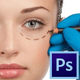 Photoshop-да көгергеннен кейін адамның бейнесі