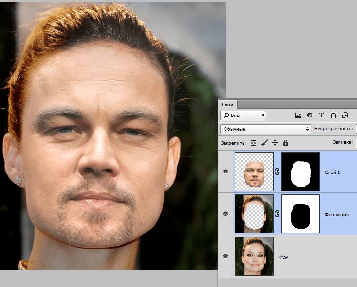 одна приложение к картинке подставить лицо каждым