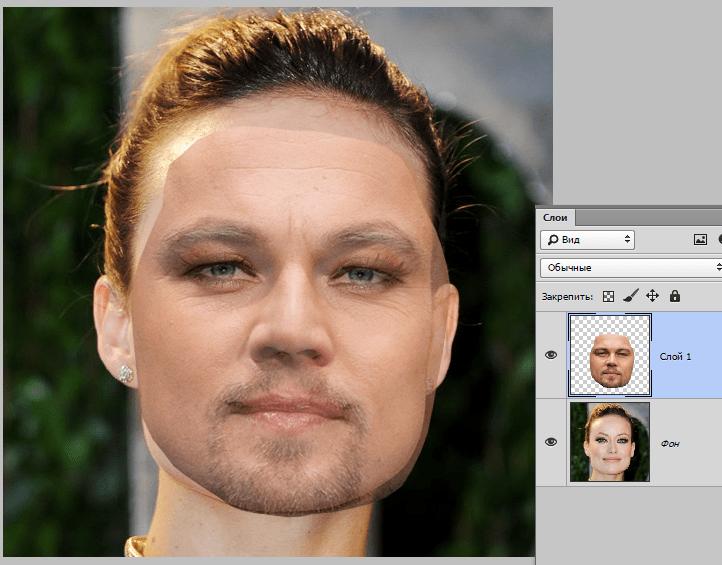 Сайт автоматической замены лица на фото отрезала
