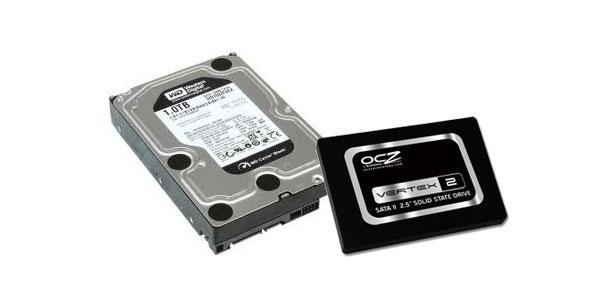 SSD-де HDD көмегімен логотип беру жүйесі