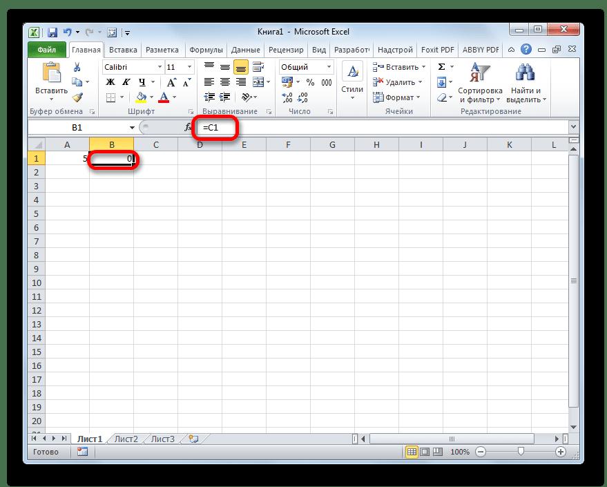 เชื่อมโยงในเซลล์ใน Microsoft Excel