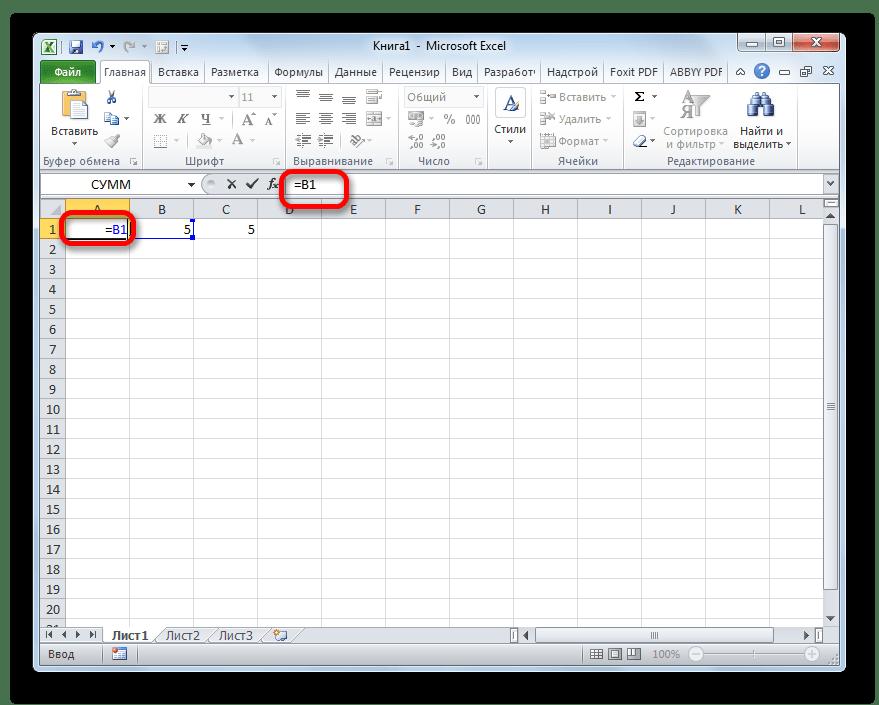 Installationslinks in der Zelle in Microsoft Excel