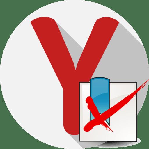 So entfernen Sie alle Lesezeichen in Yandex-Browser