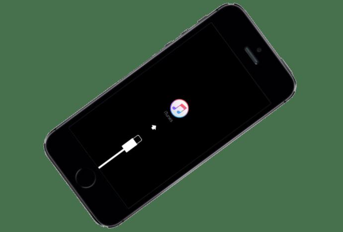 Apple iPhone 5S Firmware im Wiederherstellungsmodus-Modus