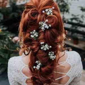 Hettie Wedding Gypsophila Bridal Hair Pin