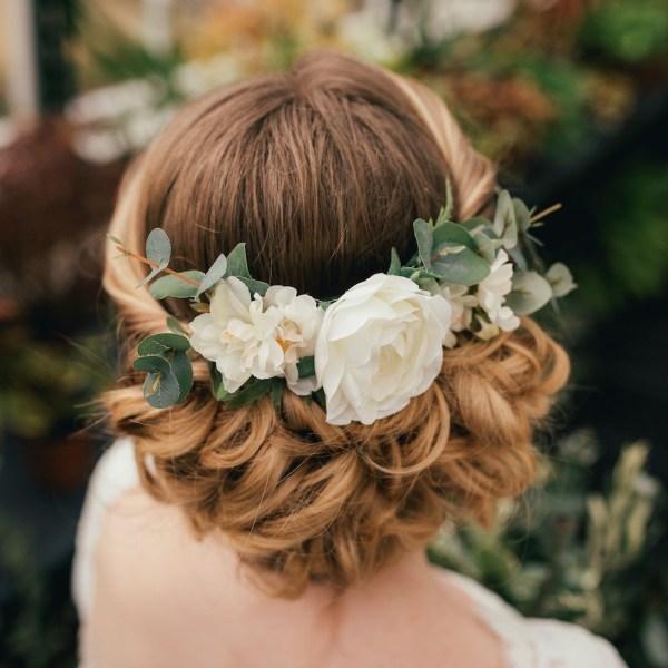 Verity Eucalyptus Wedding Bridal Hair Comb