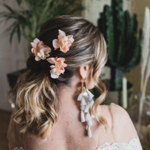 Savannah Wedding Flower Hair Pin