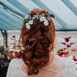 Clara Wild Rose Hair Pins