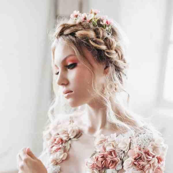 Abigail Wax Flower Hair Pin