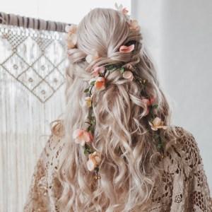 Alana Blossom Wedding Hair Vine Accessory