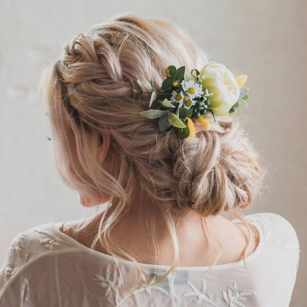 Gigi Flower Wedding Hair Comb Bridal Accessory