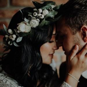 Payton Boho Wedding Flower Crown Bridal Headband