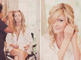 The Wedding, Hair & Makeup by LunaBella